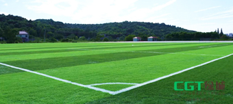 The first CGT-X System football pitch was officially built
